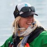 Pernille Soegaard, Cruise Manager and Adventure Guide, in Antarctica21's Expedition Team