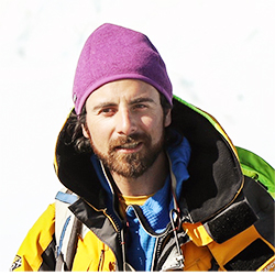 Nicolás Danyau, Mountain Guide and Photographer, in Antarctica21's Expedition team
