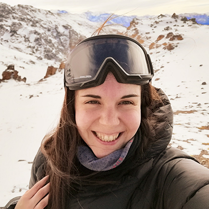 Florencia Krumm, Hospitality Support, in Antarctica21's Hospitality Team