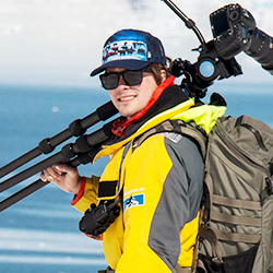 Nicolás Gildemeister, Expedition Guide and Photographer, in Antarctica21's Expedition Team