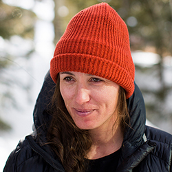 Krystle Wright, Expedition Guide and Photographer, in Antarctica21's Expedition Team