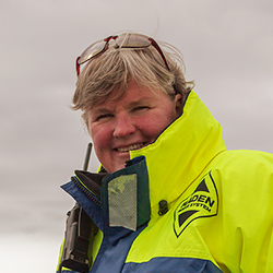 Cheli Larsen, Expedition Leader and Naturalist, in Antarctica21's Expedition Team