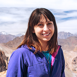 Mariela Urra, Expedition Guide and Photographer, in Antarctica21's Expedition Team