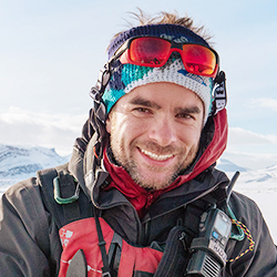 Hadleigh Measham, Expedition Leader and Historian, in Antarctica21's Expedition Team