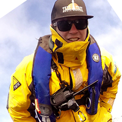 Mike Hann, Expedition Leader and Marine Naturalist, in Antarctica21's Expedition Team