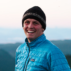 Keegan Pearson, Expedition Guide and Photographer, in Antarctica21's Expedition team