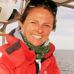 Sofia Benegas, Kayak Guide, in Antarctica21's Expedition Team
