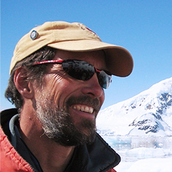 Tim Thomas, Kayak Guide and Outdoor Instructor, in Antarctica21's Expedition Team