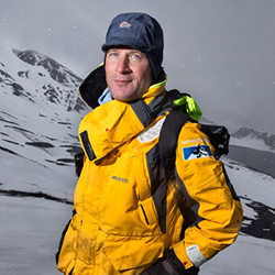 Jamie Watts, Expedition Leader and Marine Biologist, in Antarctica21's Expedition Team
