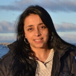 Carolina Vargas, Receptionist and Administrative Assistant, in Antarctica21's Administration Department