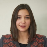 Paola Perez, Human Resources, in Antarctica21's Administration Department