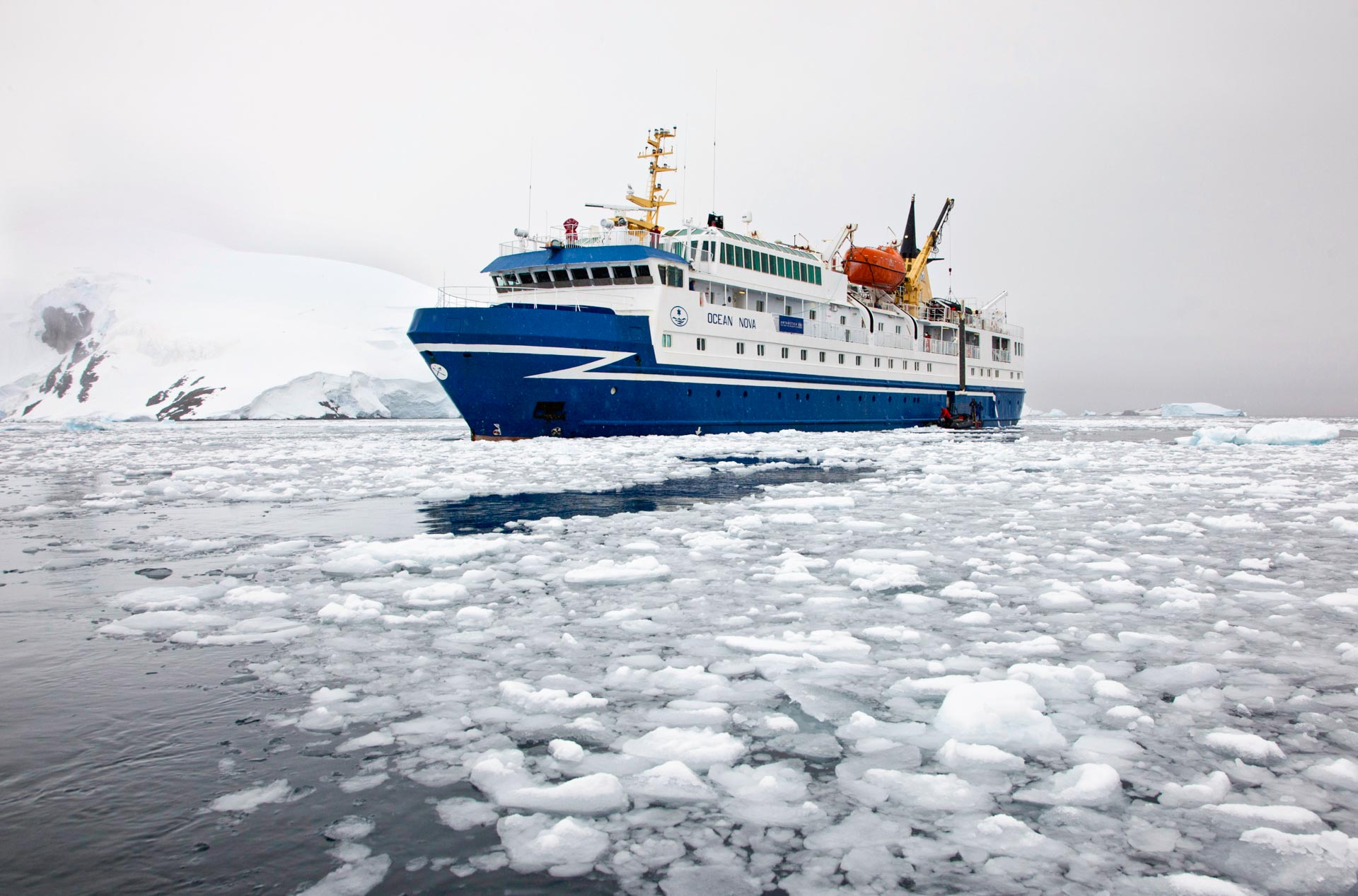 Image of An Antarctic Adventure Ship